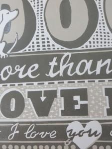 Closeup of font detail