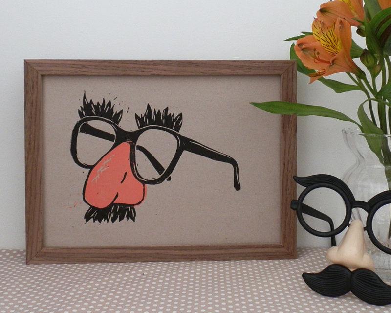 Comedy Disguise glasses, nose and moustache
