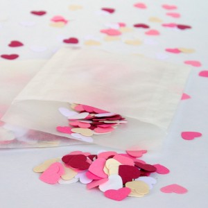 Raspberry Ripple Eco-friendly confetti by Rosie and the Boys